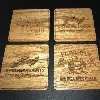Oak Coasters
