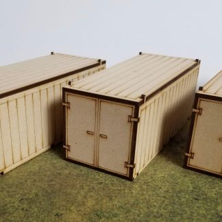 MDF shipping container