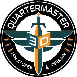 Quartermaster 3D Logo